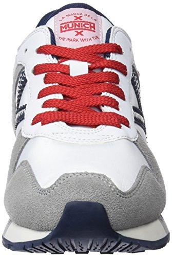 Munich Baskets white grey 253 Blanc Massana 253 pfRqp