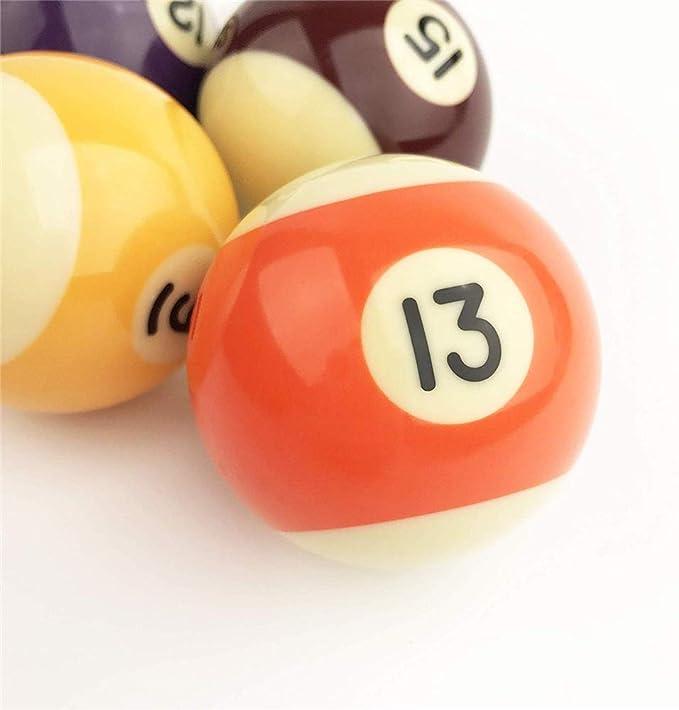 WXH Reglamento de Billar/Bolas de Billar, Juego de Bolas de Billar ...