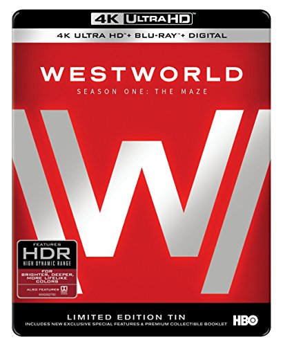 4K Blu-ray : Westworld: Season One: The Maze (With Blu-Ray, 4K Mastering, Ultraviolet Digital Copy, Digipack Packaging, 2 Pack)