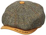 Robert Graham Headwear Men's Royal Oaknewsboy, Camel, Large