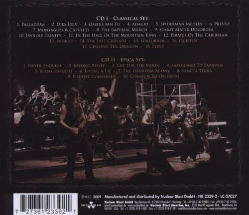 The Classical Conspiracy (2CD) by Nuclear Blast