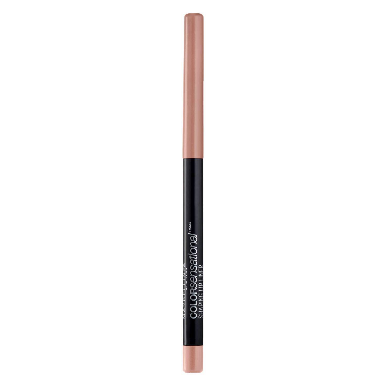 Maybelline New York Makeup Color Sensational Shaping Lip Liner, Nude Whisperer, Nude Lip Liner, 0.01 oz