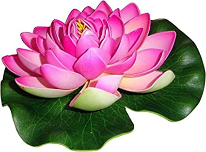 Buy Hug Me Artificial Floating Lotus Flower Pink Online At Low