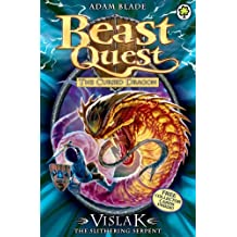 Beast Quest: 80: Vislak the Slithering Serpent by Blade, Adam (2014) Paperback