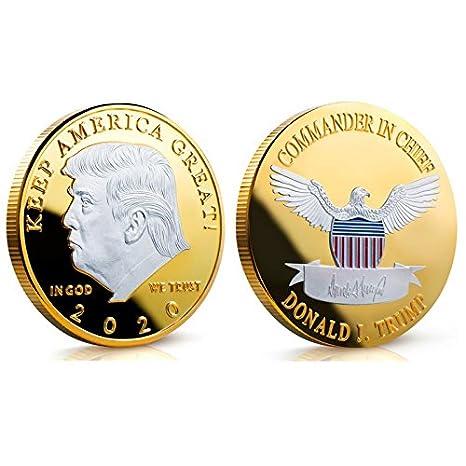 Amazon.com: monedas de mantener América gran reto – Donald ...