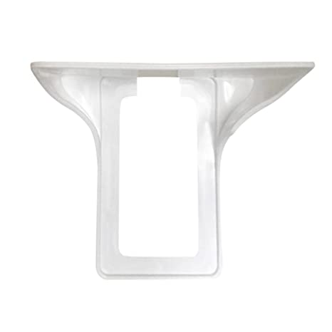 Wall Shelf , Elevin(TM) Ultimate Outlet Shelf Easy Installation Wall Outlet Shelf Power Perch Shelf (White)