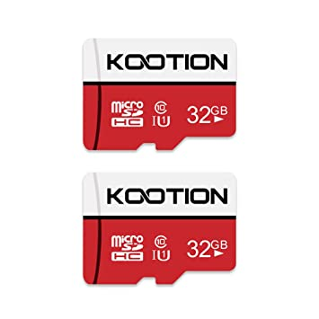KOOTION Micro SD 32GB Clase 10 Tarjeta de Memoria Micro SDHC Tarjeta MicroSD(U1 y A1) TF Card Alta Velocidad de Lectura hasta 100 MB/s, para ...