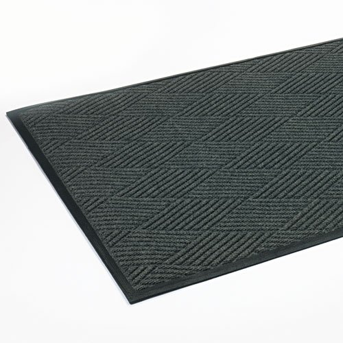 Crown - Super-Soaker Diamond Mat, Polypropylene, 45 x 69, Slate - Sold As 1 Each - Combines multi-directional, ultra-dense fibers with stylish design. - Multi Directional Fibers