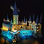 POXL Set di Luci per (Harry Potter Castello di Hogwarts) Modello - Kit Luce LED Lighting Compatibile con Lego 71043…  LEGO