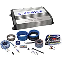 New Hifonics Brutus BRX1116.1D 1100W RMS Mono Car Amplifier+Amp Kit+Capacitor