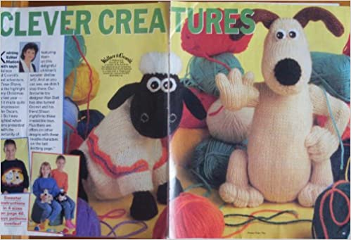 Clever Creatures Alan Dart Womans Weekly Pullout Wallace And Gromit