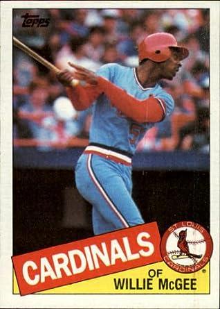 Amazon.com: 1985 Topps Baseball Card