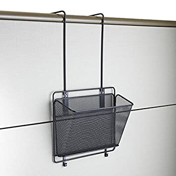 Safco Products Onyx Mesh Panel Organizer, Basket, Black ...