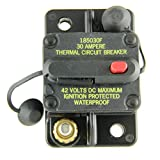Bussmann CB185-30 Surface-Mount Circuit Breakers, 30 Amps (1 per pack)