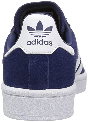 adidas Youth Campus Suede Trainers Dark Blue Footwear White
