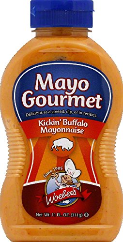 Woeber, Mayo Kicking Buffalo, 11 OZ (Pack of 6)