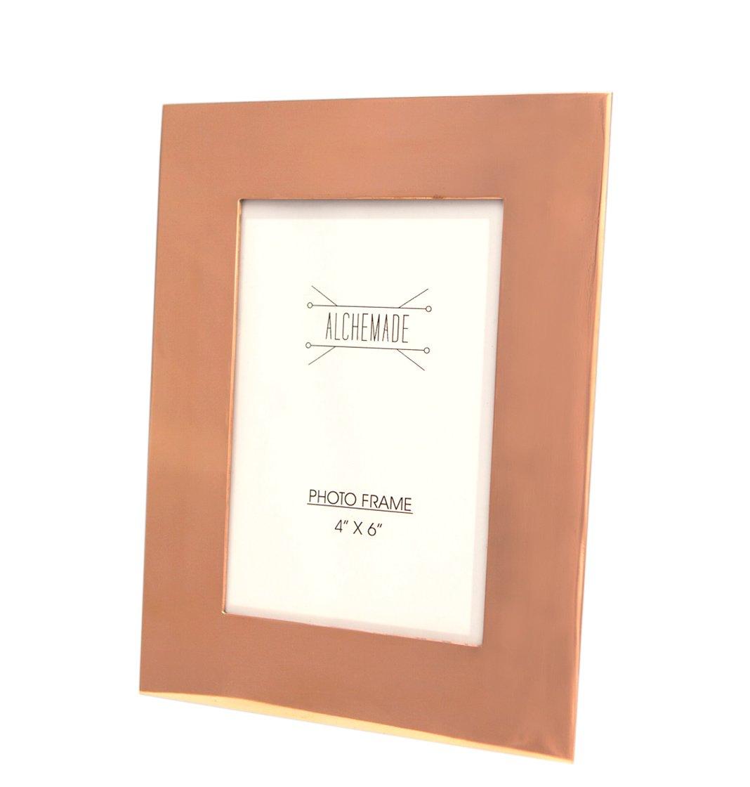 Amazon.com - Premium Quality Copper Photo Frame - 4x6 inches - 100 ...