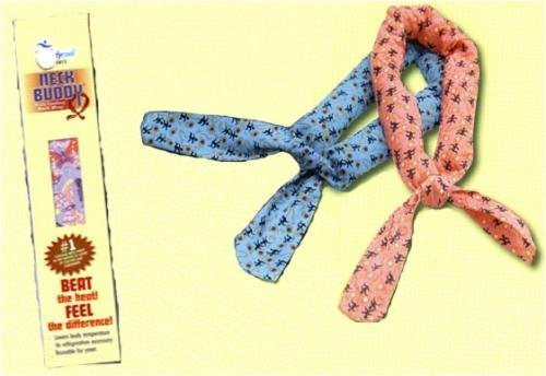 Body Cooling Neck Buddy (Assorted Colors and Patterns) by Cobber by Bodycool - Industry Mall Shopping