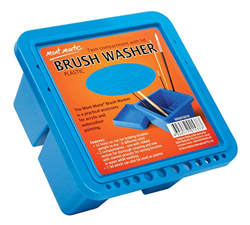 Best paint brush cleaner container