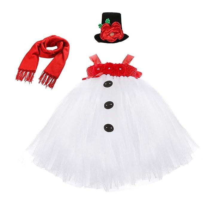 Amazon.com: Disfraz de muñeco de nieve para fiesta de ...