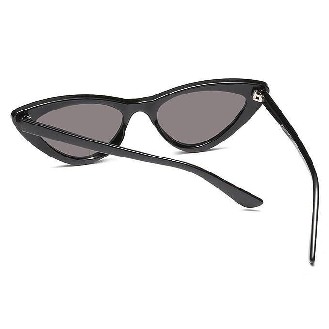 Hzjundasi Mode Mod Chic Super Cat Eye Triangle lunettes de soleil femmes Vintage Retro Eyewear Eio4b
