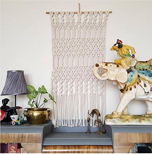 ultra boho Chic Style  pretty Macrame wall art