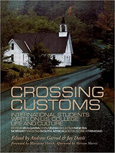 Book Crossing Customs: International Students Write on U.S. College Life and Culture (RoutledgeFalmer Studies in Higher Education) by Davis Jay Garrod Andrew (1999-04-03)