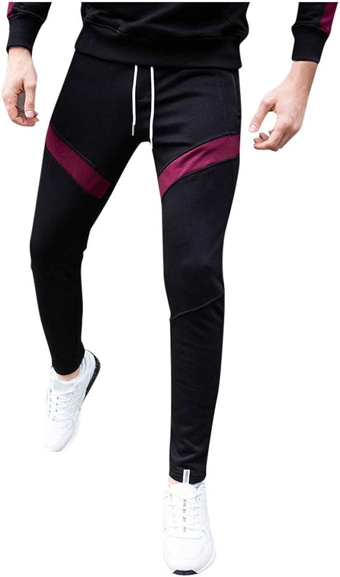 Hose Freizeit Sport Fitness Elastische Taille Männer Unterteile Jogger