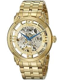 Stuhrling Original Men's Lifestyle Winchester 44 Elite Skeleton Goldtone Watch 165B2B.333331