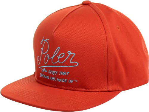 Poler - Dreams Snapback Hat, Size: O/S, Color: Burnt Orange