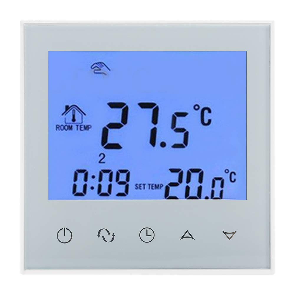 Wifi Digital Thermostat Programmable LCD Display Heating Temperature Controller NTC HY03WW-2 Hilitand