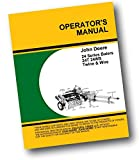 John Deere 24-T 24T Square Hay Baler Owner Operators Manual Twine Timing Service