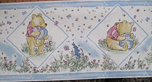Disney's Winnie The Pooh Sunworthy Wall Border, Classic Pooh, 5 Yards Per Roll