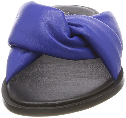 Slippers Shoe Biz mestico Mebl Hedvig Women's Blue Open Back wZzfPXq