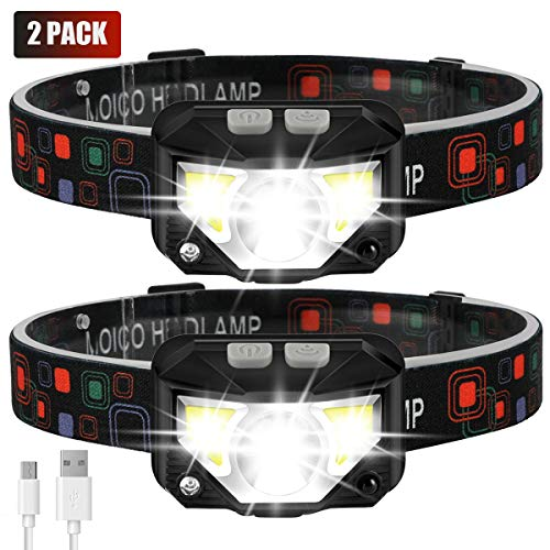 Headlamp Flashlight, MOICO