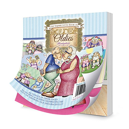 Hunkydory Square Little Book of Golden Oldies - 150 pages 5x5-inches LBSQ108 Hunkydory Crafts LBK213