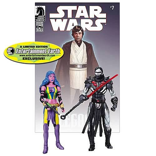 Hasbro Star Wars Exclusive Comic Book Action Figure 2Pack Dark Horse Deliah B... ()