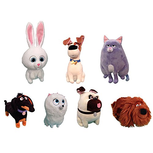 TY Beanie Babies Plush - Secret Life of Pets Movie Soft Toys (Complete set of 7) by TY Beanie Babies ()