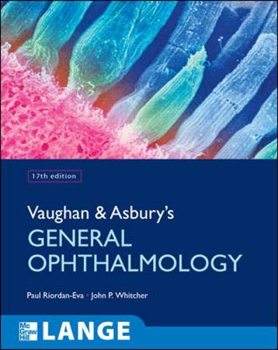 Vaughan & Asbury's General Ophthalmology (Lange Medical Books)