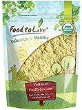Organic Garbanzo Bean Flour, 2 Pounds - Non-GMO Chickpea Flour, Stone Ground, Kosher, Vegan, Bulk, High in Protein and…