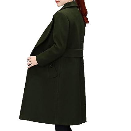 YSFU Abrigos De Mujer Gabardina Chaquetas Abrigos Largos En Otoño E Invierno Abrigos Outwear Sudaderas Sin