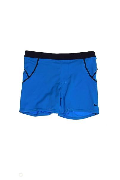 da6d4e22b7 Amazon.com: Nike Men's Metro Solid Swim Trunk Shorts, Photo Blue ...