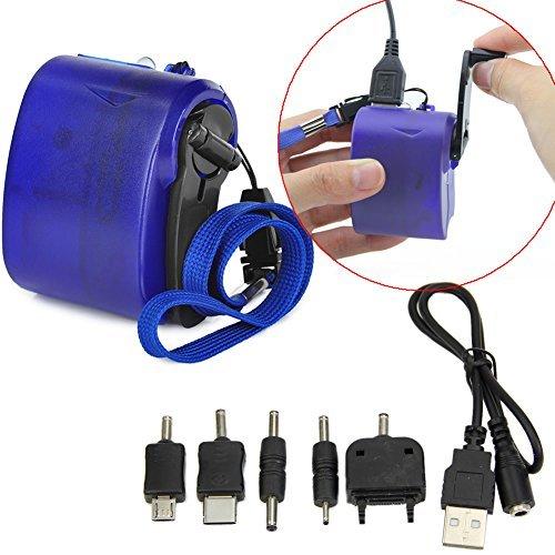 YSTD® Dynamo Hand Crank Generator USB Cellphone Emergency Charger For PDA Nokia, Motorola, Samsung, Sony Ericsson, Dopod MP3 and - Dynamo Hand Crank