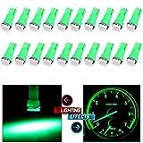 95 camaro dashboard - cciyu 20 Pack T5 58 70 73 74 Dashboard Gauge 5050SMD LED Wedge Lamp Bulb Light 6 Colors Fits 2005-2007 GMC Sierra 1500 1500 HD Yukon Yukon XL 1500 Sierra 1500 1500 HD 2500 HD 3500 (20pack green)