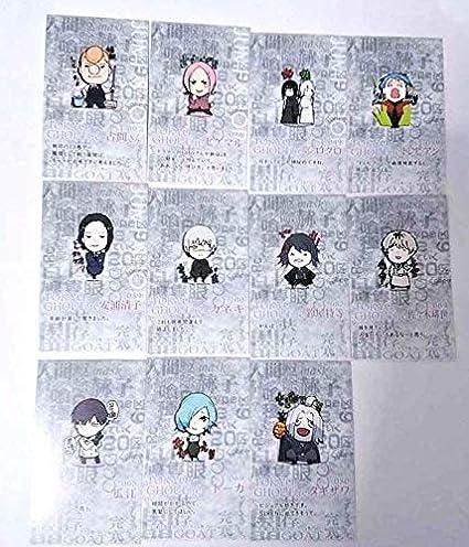 Amazon.com: Tokyo Ghoul :re Mini Card x11 Ken Kaneki Owl ...