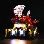 LIGHTAILING Set di Luci per (Ninjago Bounty di Terra) Modello da Costruire - Kit Luce LED Compatibile con Lego 70677… LEGO