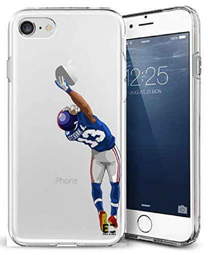 iPhone6/6S iPhone 7/iPhone 8 Case Epic Cases Ultra Slim Crystal Clear Football Series Soft Transparent TPU Case Cover Apple (iPhone 6/6s) (iPhone 7) (iPhone 8) (OBJ The Catch, iPhone 6/7/8)