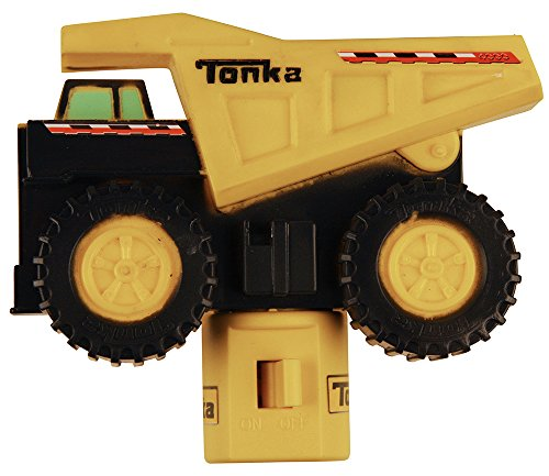 LED Tonka Dump Truck Night - Truck Wall Dump