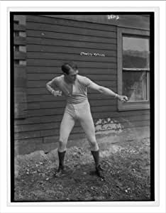 Newswire Photo (L): Stanley Ketchel in boxing pose