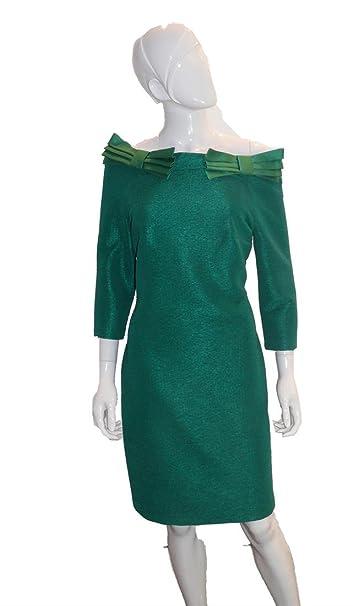 itAbbigliamento Donna Vestito Carla Verde 44Amazon Ruiz AjL5R34